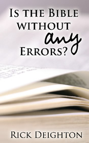 Is the Bible Without Any Errors?